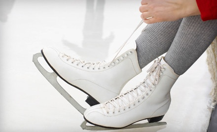 Public-Skate Admission and Skate Rentals for 2 - Sertich Ice Center in Colorado Springs