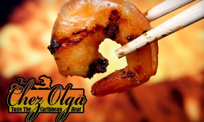 The Chez Olga - Eastown: $9 for $18 Worth of Creole and Caribbean Cuisine at The Chez Olga