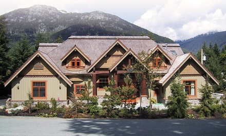 Three-Day, Two-Night Fitness Package for Two, Valid April 1315 - Whistler Alpine Chalet Retreat & Wellness  in Whistler