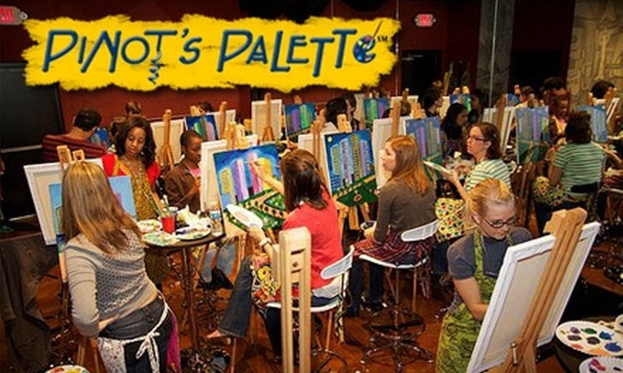Pinot's Palette - Fulshear-Simonton: $20 for $45 Worth of Painting Classes at Pinot's Palette in Katy