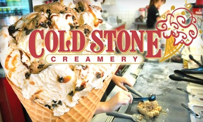 Cold Stone Creamery - Multiple Locations: $5 for $10 Worth of Cold Stone Creamery Ice Cream