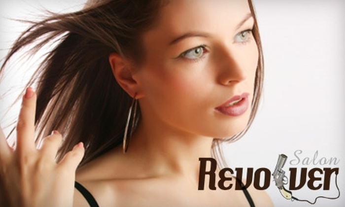 Revolver Salon - Multiple Locations: Haircare Services at Revolver Salon. Two Options Available.
