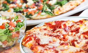 Angelo's Pizza House: Pizzeria Food and Party Packages at Angelo's Pizza House (Up to 50% Off). Four Options Available.