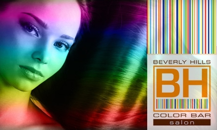 Beverly Hills Color Bar - Beverly Hills: $50 for $125 Worth of Hair Services or $125 for a Keratin Complex Hair-Smoothing Therapy ($300 Value) at Beverly Hills Color Bar