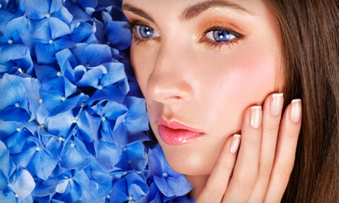 Glo Spa - Stonegate - Queensway: Shellac Manicures and Stress-Relief Facials at Glo Spa in Etobicoke (Up to 69% Off). Four Options Available.