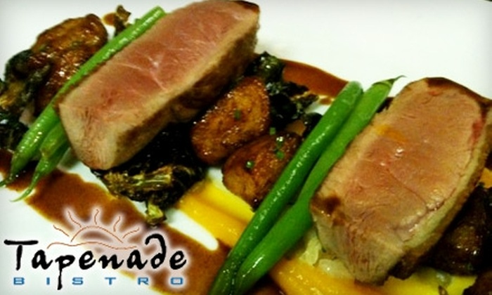Tapenade Bistro - Steveston: $35 for $70 Worth of Fine French Cuisine at Tapenade Bistro in Steveston Village