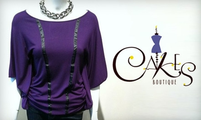 Cakes Boutique - Central Business District: $25 for $50 Worth of Clothing and Accessories at Cakes Boutique