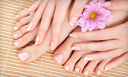Shellac Manicure (a $40 value) - The Spa and Tea Garden in Fort Worth