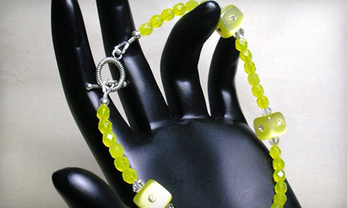 Bead Bar - College Park: $15 for Basic-Stringing-and-Crimping Class and Bracelet Kit at Bead Bar ($29.50 Value)