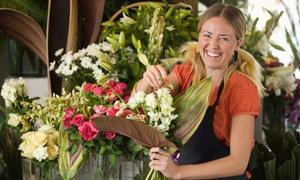 Flower-Arranging Class: Arrange Seasonal Blooms with a Floral Designer