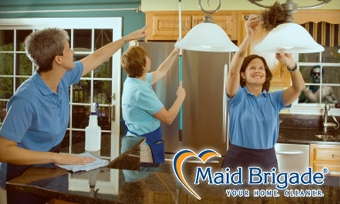Maid Brigade - Multiple Locations: $45 for One Hour of Cleaning From Maid Brigade ($90 Value)