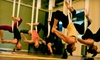 Studio Revolution - Morena: $30 for Five Revolution Yoga, Acro Yoga, or Aerial Yoga Classes at Studio Revolution ($75 Value)