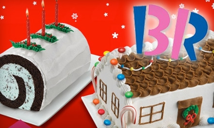 Baskin Robbins - Watsonville: $10 for $20 Worth of Ice Cream Cakes or $5 for $10 Worth of Ice Cream Treats at Baskin Robbins