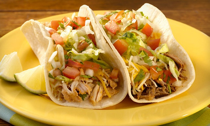 Taco Del Mar - Multiple Locations: $5 for $10 Worth of California Mexican Fare and Drinks at Taco Del Mar