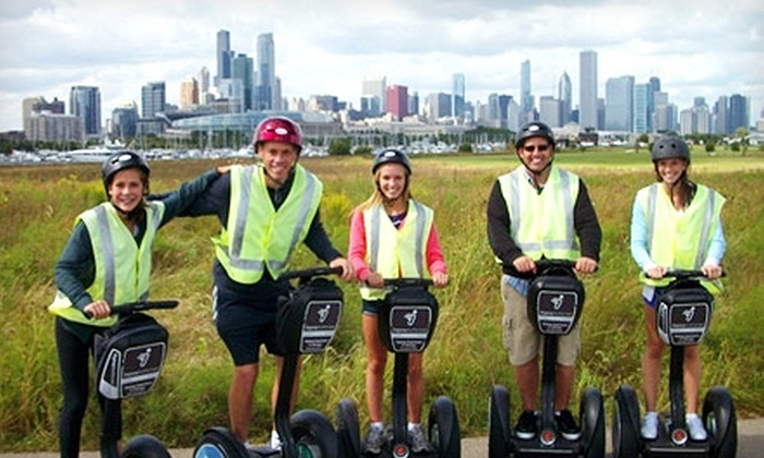 Segway Experience of Chicago - The Loop: $75 for a Two-Hour Segway Tour for Two from Segway Experience of Chicago ($140 Value). Choose Park Glide or Holiday Lights Tour.
