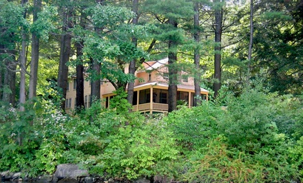 groupon daily deal - 2- or 3-Night Stay for Two in any Room at Lakeside Terrace in the Berkshires. Combine Up to 6 Nights.