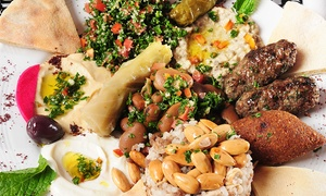 Hello Dolly Lebanese: Six-Course Lebanese Feast for Two ($39) or Four People ($75) at Hello Dolly Lebanese, St Peters (Up to $180 Value)