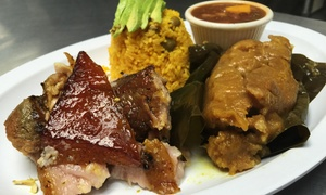Tropical Picken Chicken: Puerto Rican and Latin Food for Lunch or Dinner at Tropical Picken Chicken (40% Off)