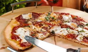 Cecil Whittaker's Pizza: Casual Italian Cuisine at Cecil Whittaker's Pizza (50% Off). Two Options Available.