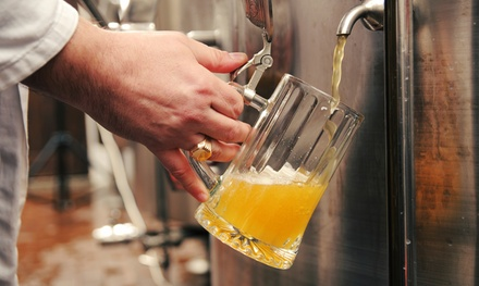 Beer Brewing Experience for Up to Four with Optional Growler Club at Brew-By-U (Up to 38% Off)