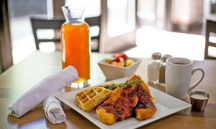 Breakfast and Lunch Cuisine at BRKFST (Up to 40% Off). Two Options available.