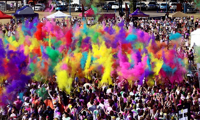 The Color Run - Pacific National Exhibition: $55 for the Color Run 5K for One at Pacific National Exhibition on Saturday, September 13 ($65.10 Value)