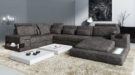 design ecksofa augsburg sm groupon goods. Black Bedroom Furniture Sets. Home Design Ideas