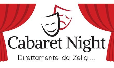 Cabaret con Zelig - 7 e 8 ottobre a Bologna