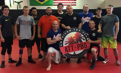 Four Weeks of Unlimited <strong>Martial Arts</strong> Classes at American Top Team Palm Beach Gardens (44% Off)