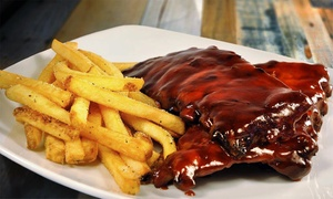 Sardi's Den: Ribs and American Food for Lunch, Dinner, or Takeout at Sardi's Den (Up to 44% Off). Five Options Available.