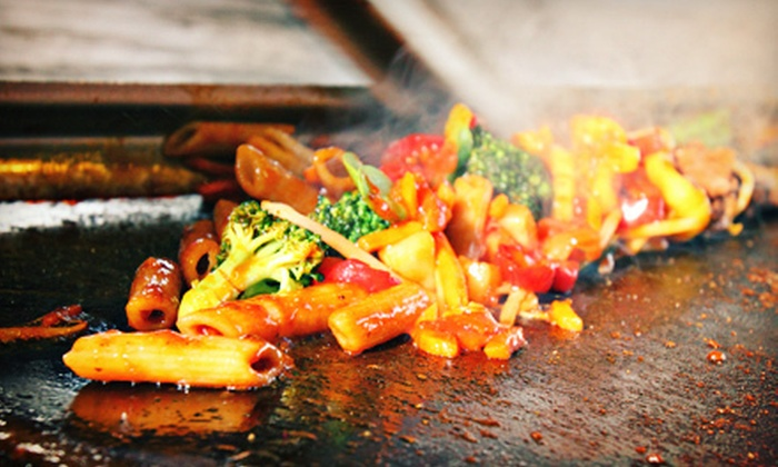 Mongolian Grill - Tecumseh: Stir-Fry, Sandwiches, and Pasta at Mongolian Grill (Up to 53% Off). Two Options Available.