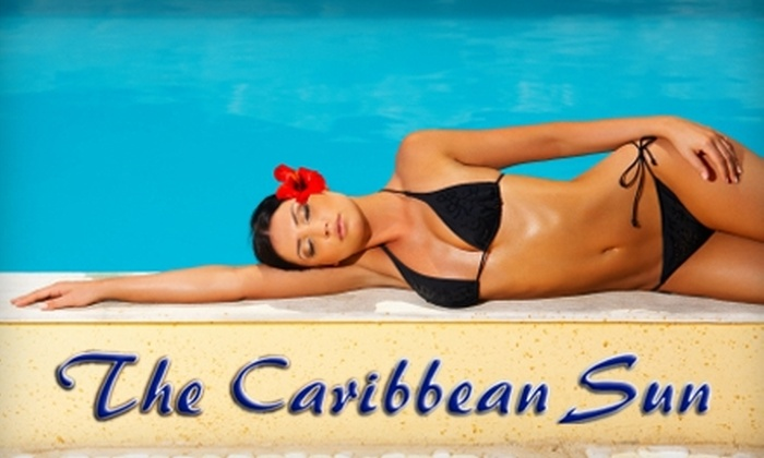 The Caribbean Sun Tanning Salon - Braintree: Tanning Services at The Caribbean Sun Tanning Salon in Braintree. Choose from Two Options.