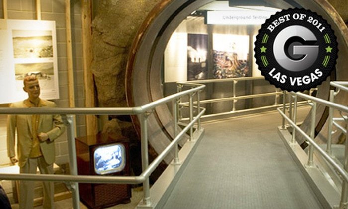 National Atomic Testing Museum - Paradise: National Atomic Testing Museum Outing for Two or Four (Up to 57% Off)