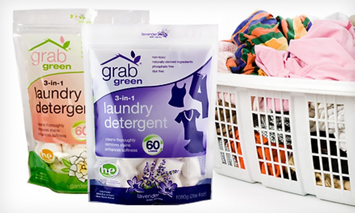 Eco-Friendly Laundry Detergent Pods  : $29 for Two 60-Load 3-in-1 Biggie Pods of Laundry Detergent ($43.50 Value). Shipping Included.