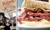 Kahn's Deli in the Village - University Place: $10 for $20 Worth of Traditional Family Sandwich Shop Fare at Kahn's Deli