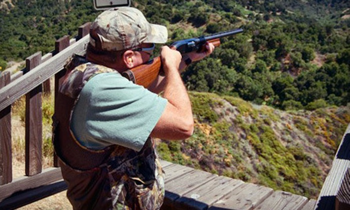 Oak Tree Gun Club - Newhall: Clay-Shooting Package for Two or Four at Oak Tree Gun Club in Newhall (Up to 54% Off)