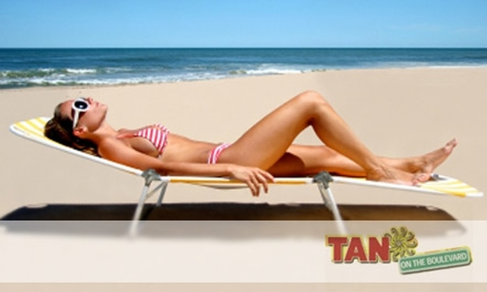 Tan on the Boulevard - Multiple Locations: $20 for $85 Worth of Boulevard Bucks at Tan on the Boulevard