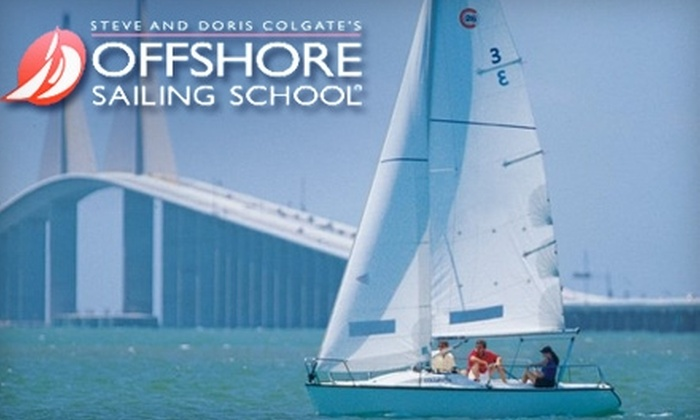Offshore Sailing School - Downtown St. Petersburg: $75 for a Two-Hour Group Sailing Lesson from the Offshore Sailing School in St. Petersburg