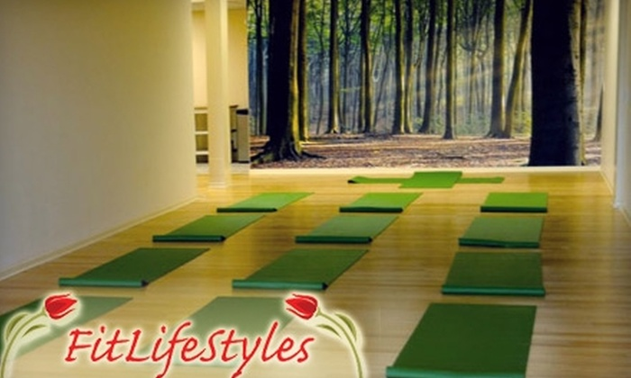 FitLifeStyles Yoga Studio - Sheahan Estates - Trend Village - Arlington Woods: $30 for a 10-Class Yoga Card from FitLifeStyles Yoga Studio ($125 Value)