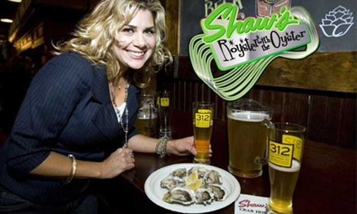 Shaw's Crab House - Near North Side: $10 for $20 Worth of Oysterbucks Toward Oysters, Sandwiches, Beer, and More at the Royster with the Oyster Friday Night Tent Party at Shaw's Crab House on Oct. 15