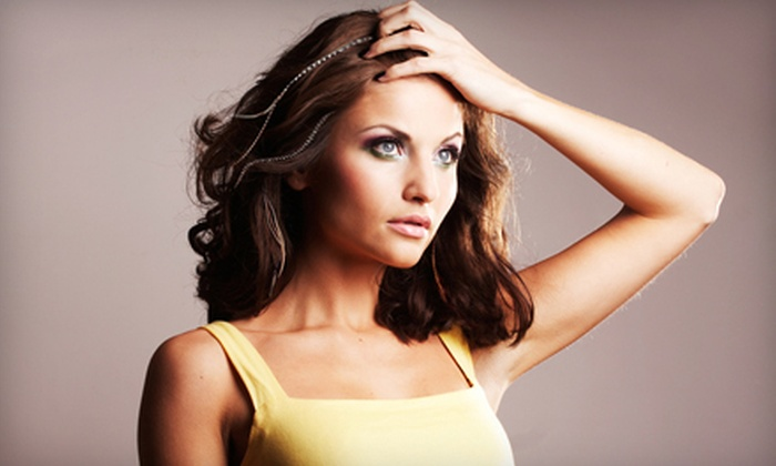 Beauty Mi Amour Salon and Day Spa - Kansas City: Feather Hair Extensions and Salon Services at Beauty Mi Amour Salon and Day Spa in Mission. Three Options Available.