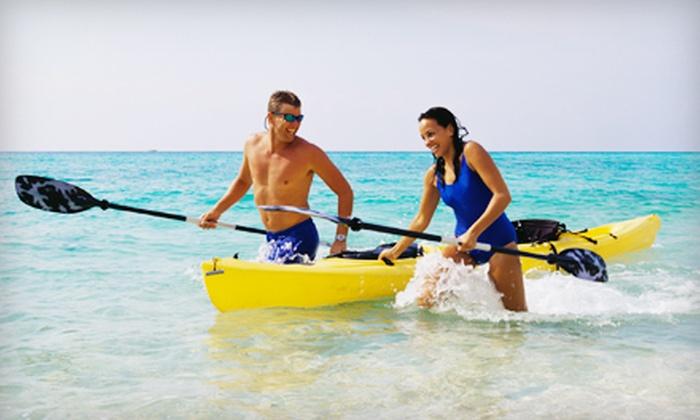 TI Beach Rentals - Treasure Island: Beach Cycle, Single-Seater Kayak, or Tandem Kayak Rental from TI Beach Rentals on Treasure Island