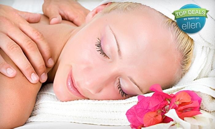 Sunrise Hair Studio & Sue's Skin Care Center - Washington DC: $49 for a One-Hour Deep-Tissue Massage at Sunrise Hair Studio or Sue's Skin Care Center ($125 Value)