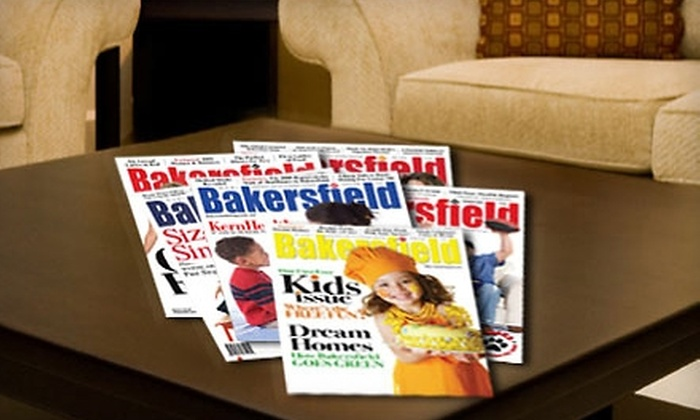 """Bakersfield Magazine: One-Year or Two-Year Subscription to """"Bakersfield Magazine"""""""