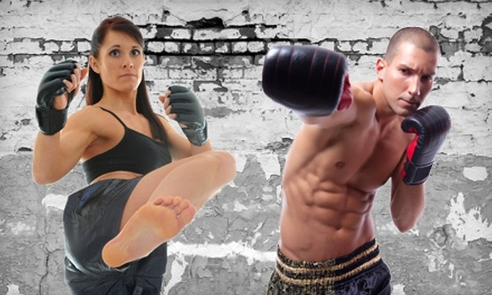 Conan's Academy - Norman: $30 for One Month of Anaerobic Kickboxing or Boxing Classes at Conan's Academy in Norman ($95 Value)