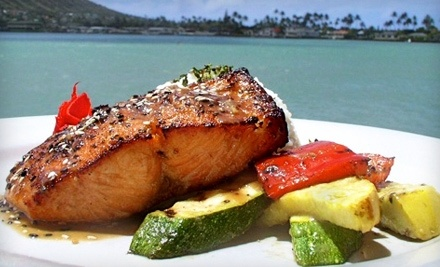 $60 Groupon to BluWater Grill - BluWater Grill in Honolulu