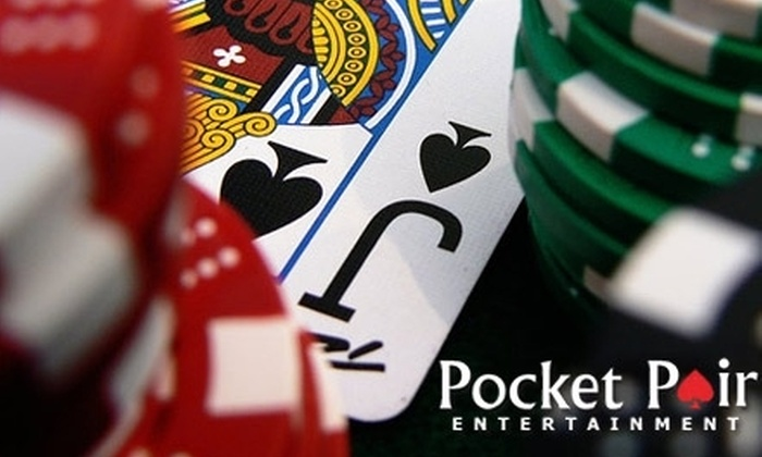 Pocket Pair Entertainment - Dallas: $185 for an On-site Casino Party Package from Pocket Pair Entertainment ($370 Value)