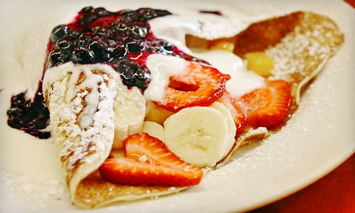 Aloha Crepes - Pearl City: $7 for $15 Worth of Crêpes, Smoothies, and Açai Bowls at Aloha Crepes in Aiea