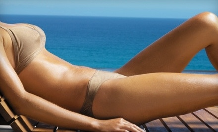 1 Custom Airbrush Tan (a $50 value) - Sparkling Bronze Airbrush Tanning in Arlington