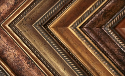 $100 Groupon to Wallflower Custom Framing - Wallflower Custom Framing in Seattle